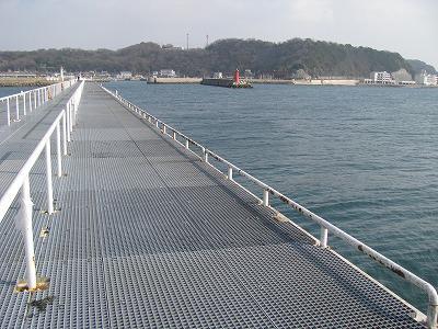 釣り 桟橋 豊浜