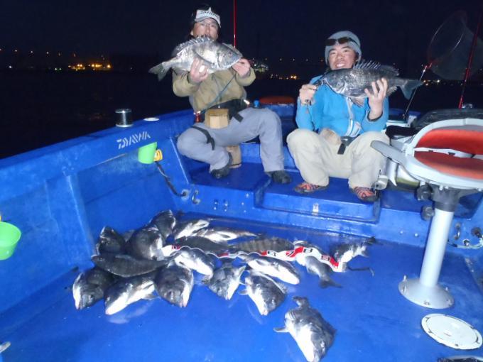 黒鯛 落とし込み釣り