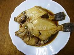 カワハギの煮付け10