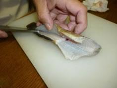 クジメの刺し身6